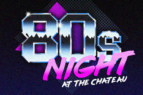 80s Night at Chateau Impney, Droitwich