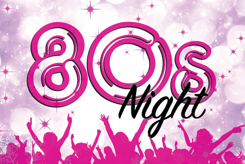 80's Christmas tribute night, Chateau Impney, Droitwich