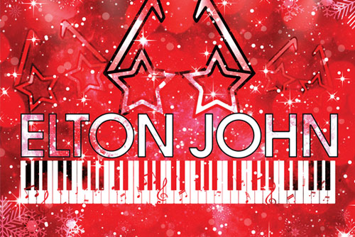 Elton John Christmas tribute night, Chateau Impney, Droitwich