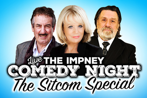 Live Comedy: Chateau Impney Hotel, Droitwich