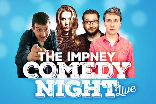 Katherine Ryan – Live comedy at Chateau Impney Hotel, Droitwich, Worcestershire