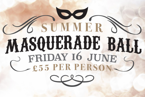 Summer Masquerade Ball, Chateau Impney Hotel, Worcestershire