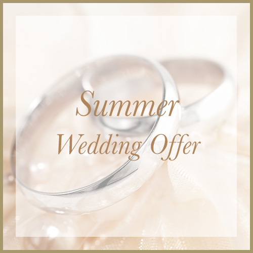 2017 Summer Wedding offer, Chateau Impney, Worcestershire
