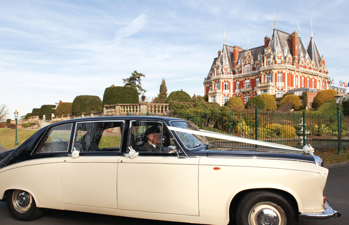 Exclusive use weddings at Chateau Impney Hotel, Worcestershire