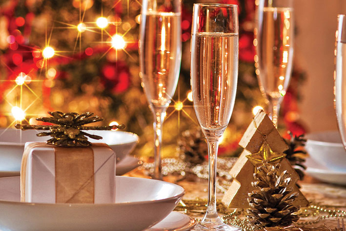 Christmas and New Year celebrations at Chateau Impney