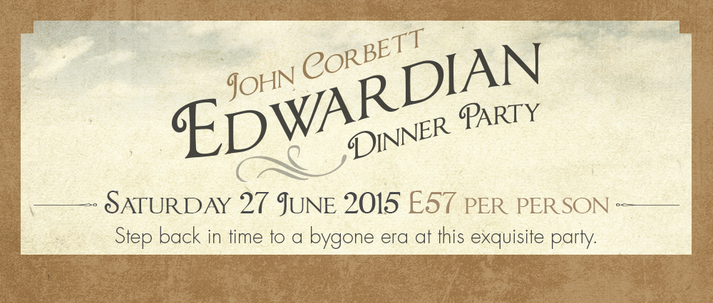 John Corbett Edwardian Dinner Party