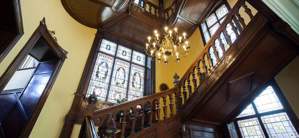 Breathtaking grand Jacobean-style staircase